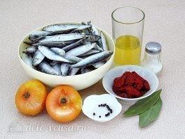 Килька в томатном соусе: Ингредиенты