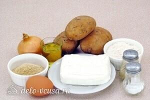 Картофельно-творожные котлеты: Ингредиенты
