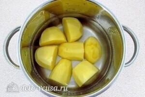 Картофельно-творожные котлеты: фото к шагу 1.