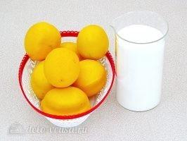 Лимон с сахаром в банке: Ингредиенты