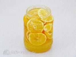 Лимон с сахаром в банке: Дать настояться 5-7 дней