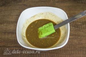 Мясной рулет с моцареллой, вялеными томатами и грибами: Готовим соус