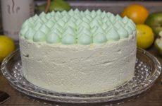 Муссовый торт Карамельная груша