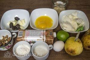 Муссовый торт Карамельная груша: Ингредиенты
