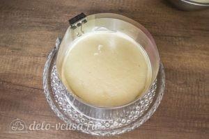 Муссовый торт Карамельная груша: Выкладываем грушевое желе