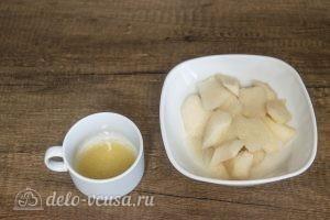 Муссовый торт Карамельная груша: Готовим мусс из груши