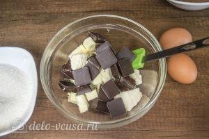 Печенье Двойной шоколад: Поломать шоколад