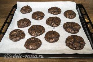 Печенье Двойной шоколад: Выпекаем до готовности