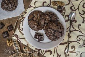 Печенье Двойной шоколад готово