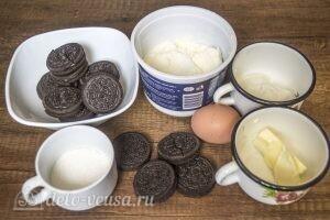 Пирожные мини-чизкейки: Ингредиенты