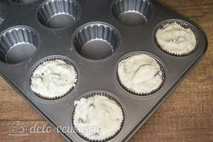 Пирожные мини-чизкейки: фото к шагу 5