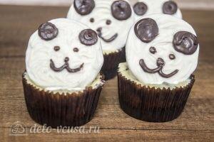 Пирожные мини-чизкейки: фото к шагу 7.