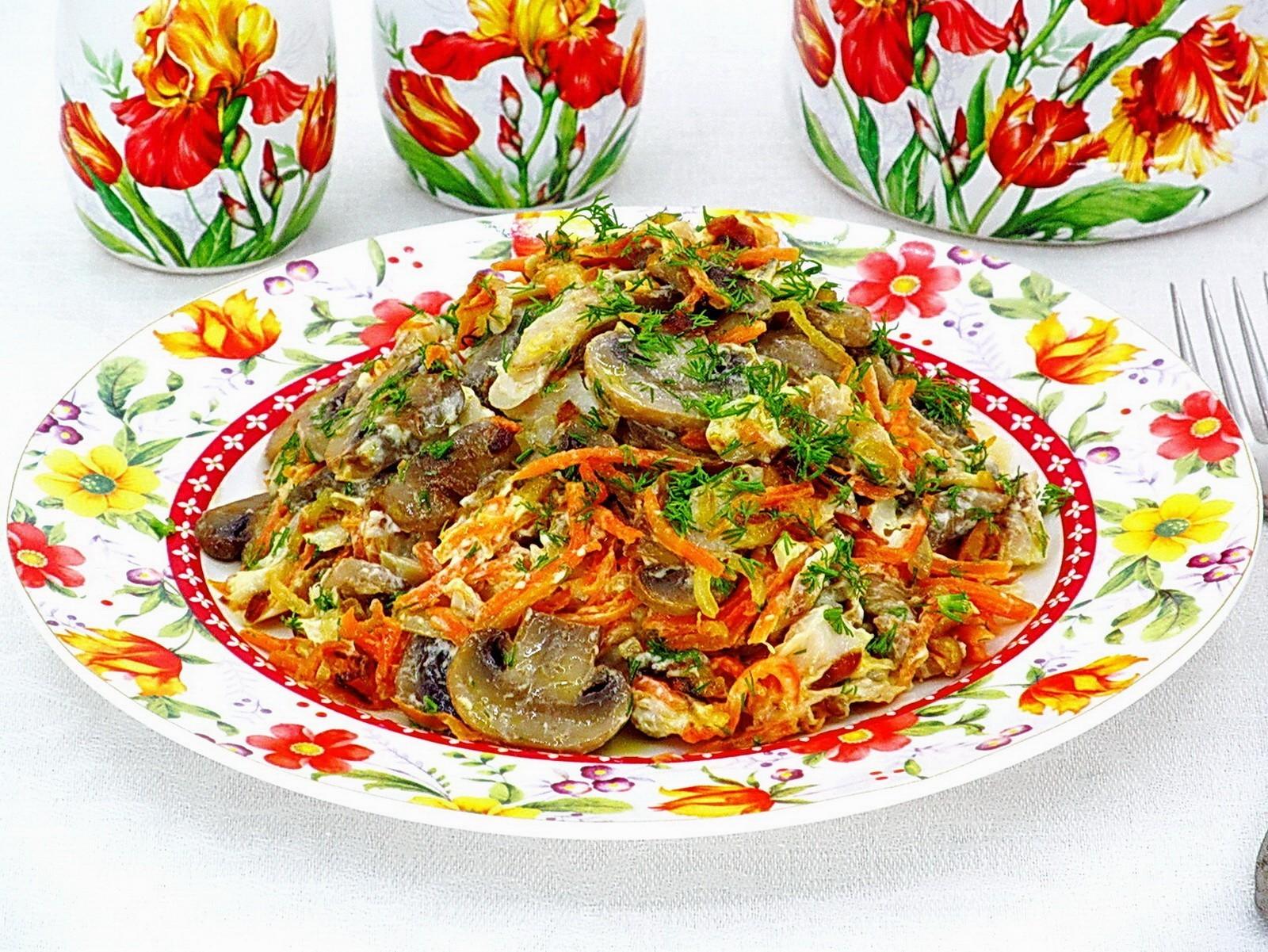 Жульен с рыбой и грибами - пошаговый рецепт с фото на Повар.ру | 1201x1600