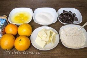 Шоколадно-апельсиновый торт: Ингредиенты