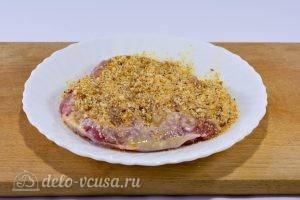 Шницель из говядины на сковороде: фото к шагу 5