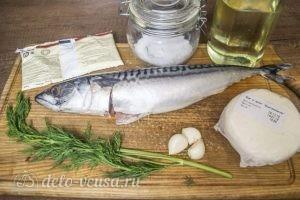 Запеченная скумбрия с адыгейским сыром: Ингредиенты