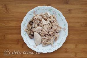 Суп с сырными клецками: Перепелов разобрать