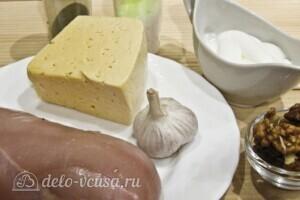 Рафаэлло из курицы с орехами: Ингредиенты