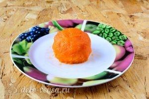 Закуска Мандарины: Сформировать мандарин