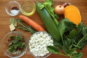 Зимний Минестроне: Ингредиенты