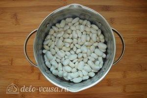Зимний Минестроне: Замочить фасоль