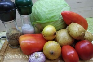 Борщ с говядиной и свежей капустой: Ингредиенты