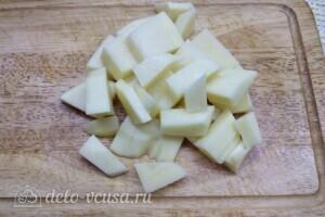 Борщ с говядиной и свежей капустой: фото к шагу 6.