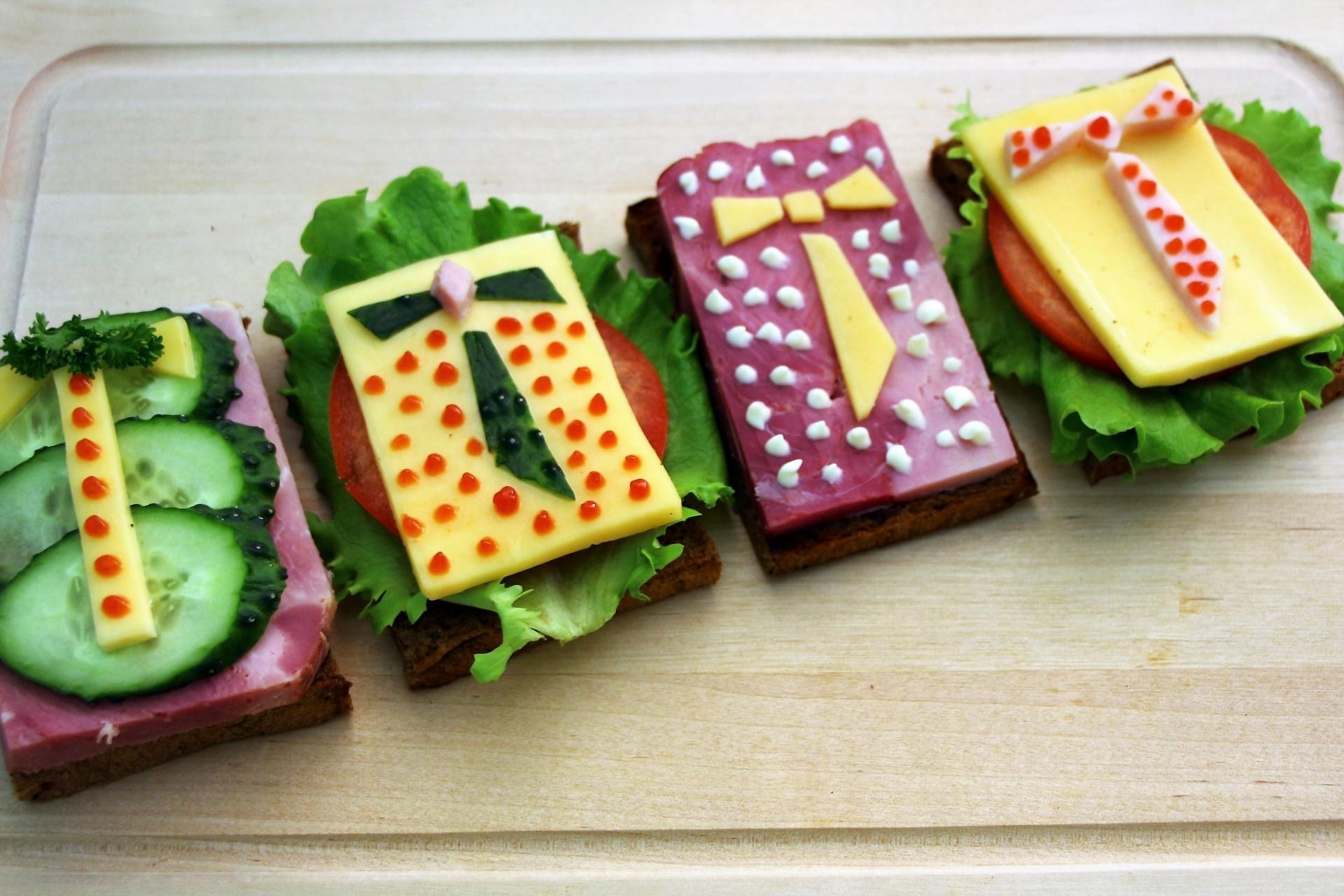 Бутерброды на 23 февраля