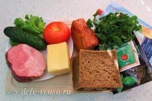 Бутерброды на 23 февраля: Ингредиенты