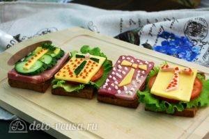 Бутерброды на 23 февраля готовы