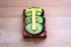 Бутерброды на 23 февраля: Украсить бутерброд