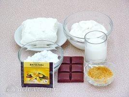 Творожный десерт Зебра: Ингредиенты