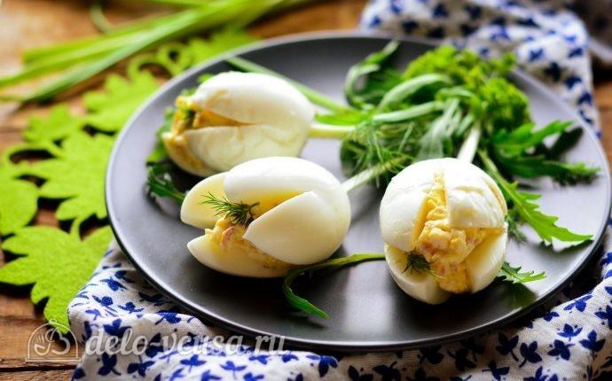 Рецепт закуска белые тюльпаны