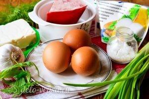 Закуска Белые тюльпаны: Ингредиенты