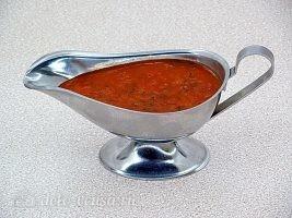 Куриные шейки в духовке и пикантный соус: фото к шагу 14