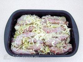 Куриные шейки в духовке и пикантный соус: фото к шагу 7