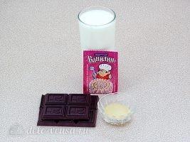 Шоколадное бланманже: Ингредиенты