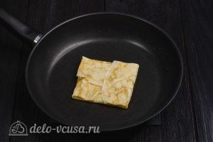Блины на молоке и 3 начинки с сыром: Собираем конвертик