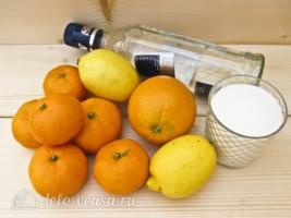 Домашний цитрусовый ликер: Ингредиенты