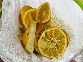 Домашний цитрусовый ликер: фото к шагу 10.