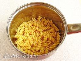 Паста с тунцом и оливками: фото к шагу 8.