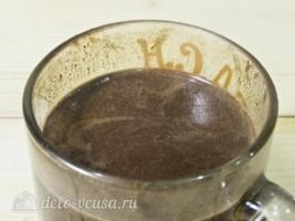 Горячий шоколад с апельсином: фото к шагу 7.