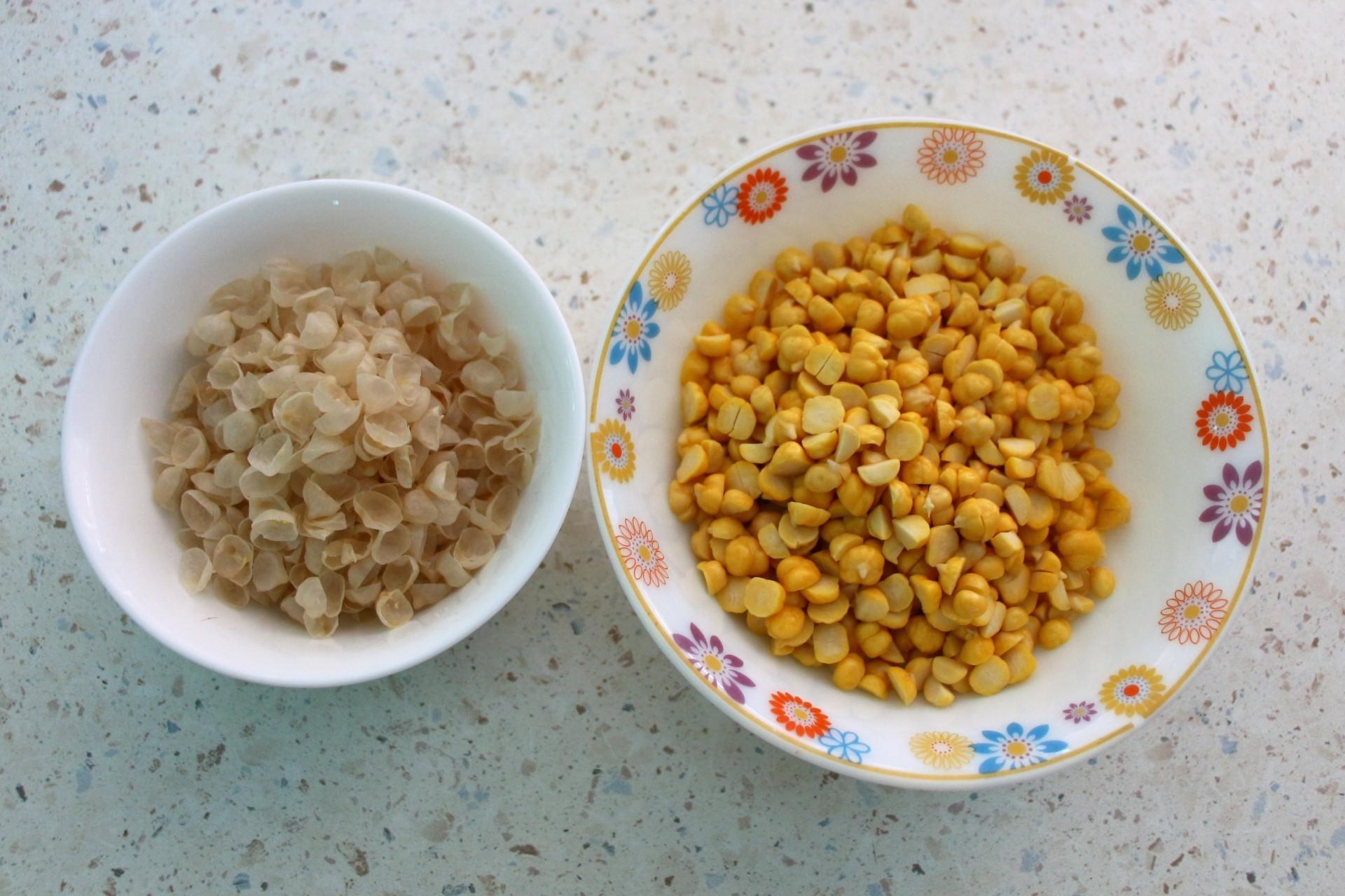 Хумус с авокадо из нута: фото к шагу 1.