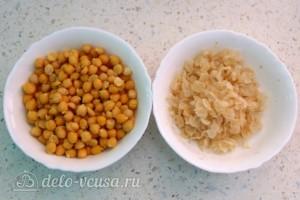 Хумус с печеным перцем: фото к шагу 7.