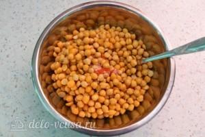 Хумус с печеным перцем: фото к шагу 8.