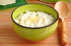 Каша рисовая на воде (вязкая)
