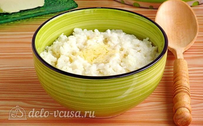 Рисовая каша на воде (вязкая)
