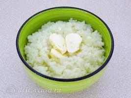 Рисовая каша на воде (вязкая): фото к шагу 5.