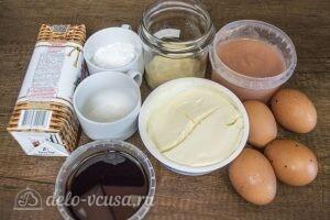 Муссовый торт Летний персик: Ингредиенты