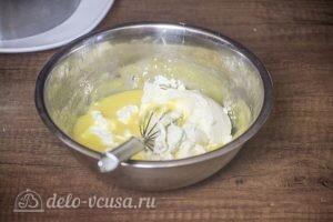 Муссовый торт Летний персик: фото к шагу 10.